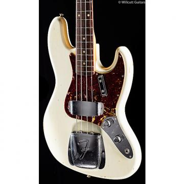 Custom Fender Custom Shop 1960 Relic Jazz Bass Aged Olympic White (973)
