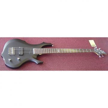 Custom ESP LTD F54BLKS 4-String Bass Guitar (Flat Black)
