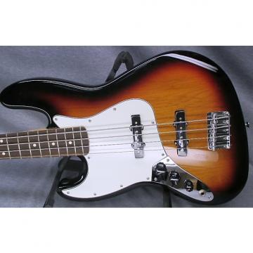 Custom Left Hand Fender MIM Jazz Bass with Hard Case
