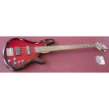 Custom Schecter 2881 C4 Deluxe 4-String Bass Guitar CRB