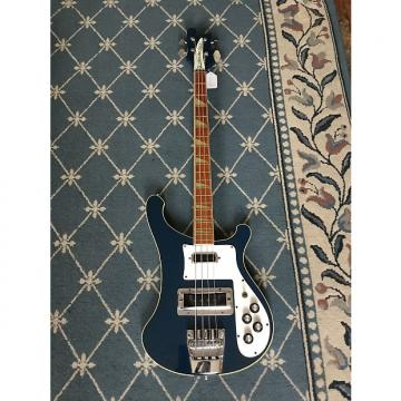 Custom Rickenbacker 4001 Bass Guitar 1976 Azure Blue