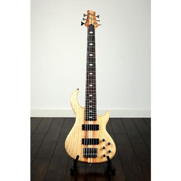 Custom Quincy Toulouse 6 String thru neck bass through active & passive controls 2017 Natural