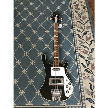 Custom Rickenbacker 4001 Bass Guitar 1973 Jetglo