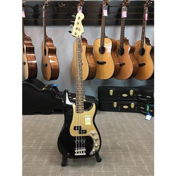 Custom Fender Deluxe Precision Bass Black With Gold Pickguard
