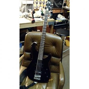Custom Ibanez Roadstar II Bass Black/Red Binding