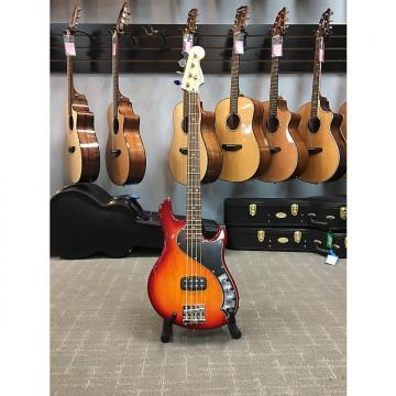 Custom Fender Deluxe Dimension Bass Red Burst