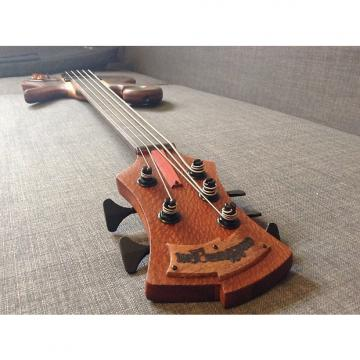 Custom Carl Thompson 5 String Semi-Frills Fretless 2016 Natural