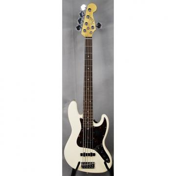 Custom Fender American Standard Jazz Bass V 5-Str RW Fretboard, Olympic White ON SALE!!