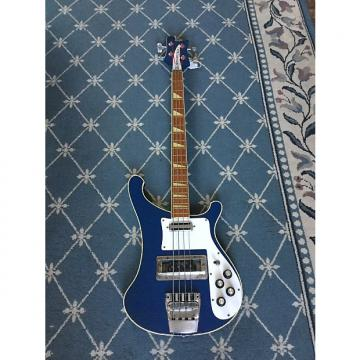 Custom Rickenbacker 4001 Bass Guitar 1973 Azure Blue