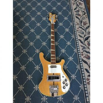 Custom Rickenbacker 4001 Bass Guitar 1972 Mapleglo