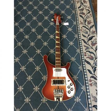 Custom Rickenbacker 4001 Bass Guitar 1973 Fireglo