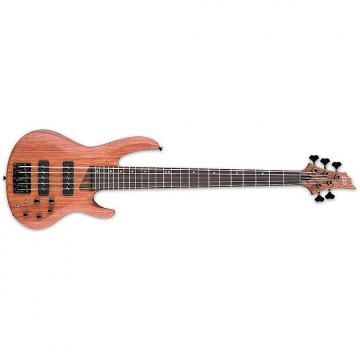 Custom ESP/LTD B-1005 SE BUBINGA Natural SATIN(LB1005SEBNS)Bass Guitar - LB1005SEBNS