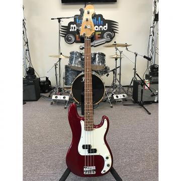 Custom Fender Standard Precision Bass 2011 Candy Apple Red