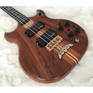 Custom Alembic Stanley Clarke Brown Bass  - Walnut