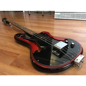 Custom 1966 Ampeg AEB-1 Scroll Bass Guitar