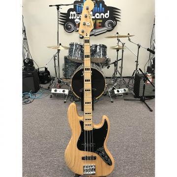 Custom Fender Deluxe Active Jazz Bass 2016 Natural