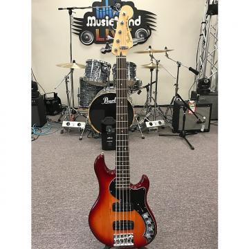 Custom Fender Deluxe Active Dimension Bass V 2016 Aged Cherry Burst