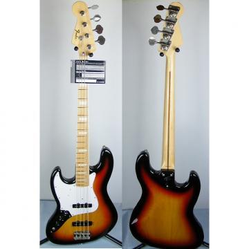 Custom Fender '75 LH Reissue Jazz Bass Japan 2010 GAUCHER  Sunburst