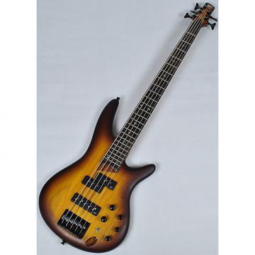 Custom Ibanez SR655-BBF SR Series 5 String Electric Bass in Brown Burst Flat Finish