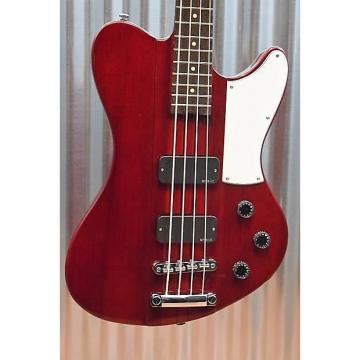 Custom Schecter Guitar Research Ultra Bass 4 String See Through Cherry Thunderbird 906
