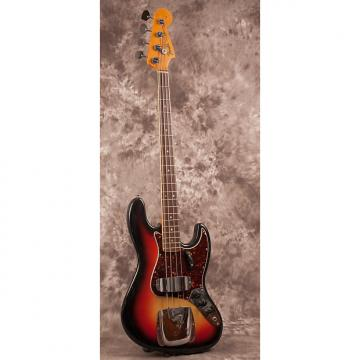 Custom Fender Jazz Bass 1966 Sunburst