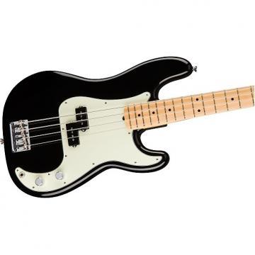 Custom Fender American Professional Precision Bass, Black, Maple Board - 0193612706