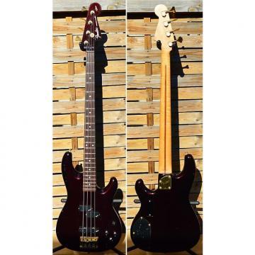 Custom Fender precision pjr-70 1995 Dark Wine metallic active