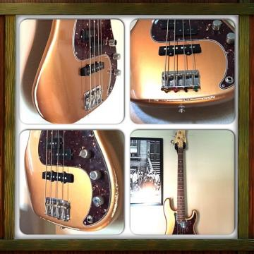 Custom Alleva Coppolo Jeff Andrews tribute P-J Bass 2007 Metallic Copper - PRICE DROP