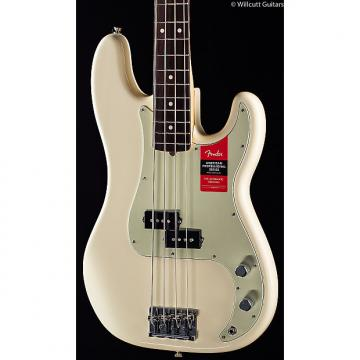 Custom Fender American Pro Professional Precision Bass Olympic White Rosewood (451)