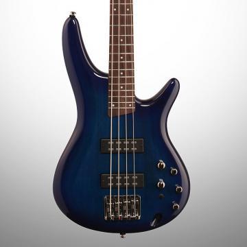 Custom Ibanez SR370E Electric Bass, Sapphire Blue