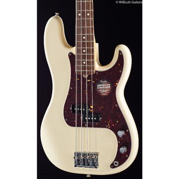 Custom Fender American Standard Precision Bass Olympic White, Maple (729)