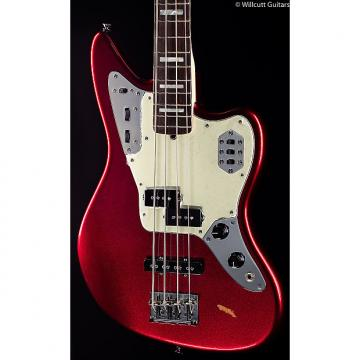 Custom Fender American Standard Jaguar Bass Mystic Red (948)