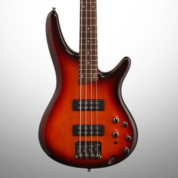Custom Ibanez SR370E Electric Bass, Aged Whiskey Burst