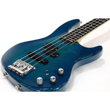 Custom P-Project Pumps 4 String Bass Trans Blue