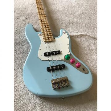Custom Fender / Warmoth Jazz Bass Sonic Blue Jazz Bass 2001 Sonic Blue