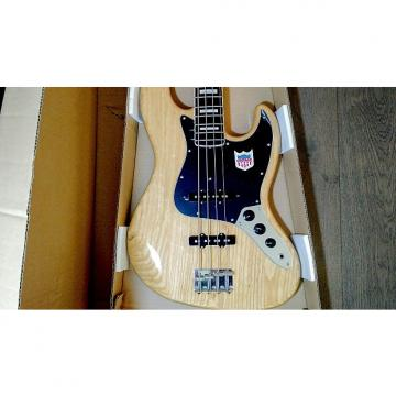 Custom NEW - Fender Japan '75 Reissue Jazz Bass Natural Pearl Block Rosewood JB75 CIJ (NAT/R)