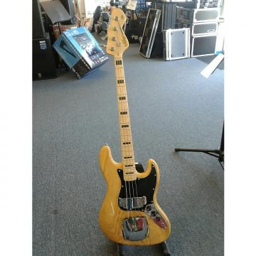 Custom Vintage VJ74 Natural Jazz Bass Reissue
