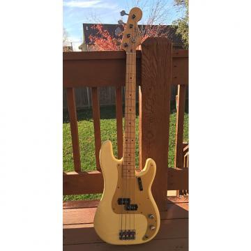 Custom Fender '57 Reissue Precision Bass Fullerton Model Anodized Pickguard 1982 Aged White Blonde