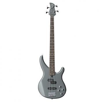 Custom Yamaha TRBX204 4-String Electric Bass - Gray Metallic