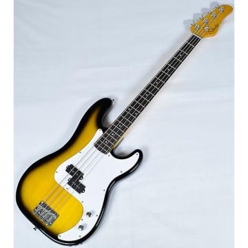 Custom Schecter Diamond-P Prototype Electric Bass in 2-Tone Sunburst PC001 Finish