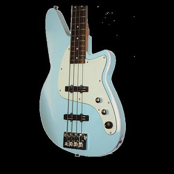 Custom Reverend Justice Bass - Chronic Blue