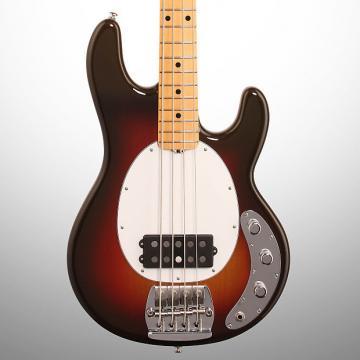 Custom Ernie Ball Music Man 40th Anniversary StingRay Electric Bass, Chocolate Burst