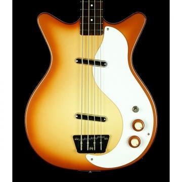 Custom New! Danelectro 59 DC Short-Horn Long Scale Electric Bass - Copper Bass