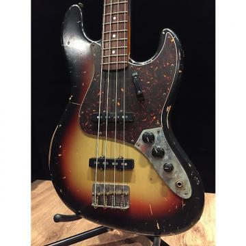 Custom Nash JB63 Jazz Bass 07 3 Tone Sunburst