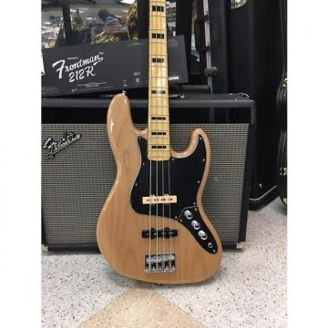 Custom Squier Vintage Modified Jazz Bass 70's Natural