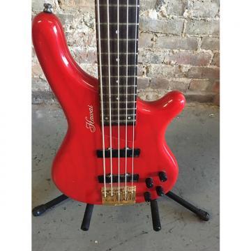 Custom Exc. used Kawai 5-string electric bass guitar