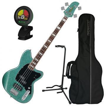Custom Ibanez TMB310 4-String Electric Bass Guitar Bundle