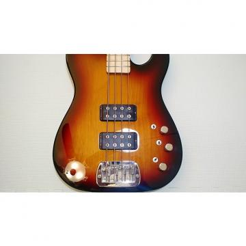Custom G&L USA Custom ASAT Bass 2009, Sunburst Swamp Ash body, #8 Maple Satin neck