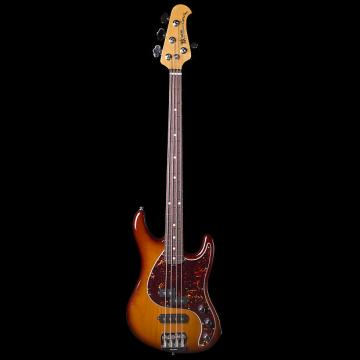 Custom Ernie Ball Music Man Caprice Heritage Tobacco Bass w/ Case