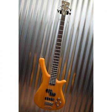 Custom Warwick Rockbass Fortress 4 String Bass Honey Oil & Gig Bag #0715